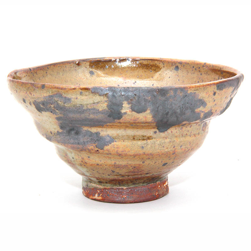 Golden Shino/Oxide Bowl