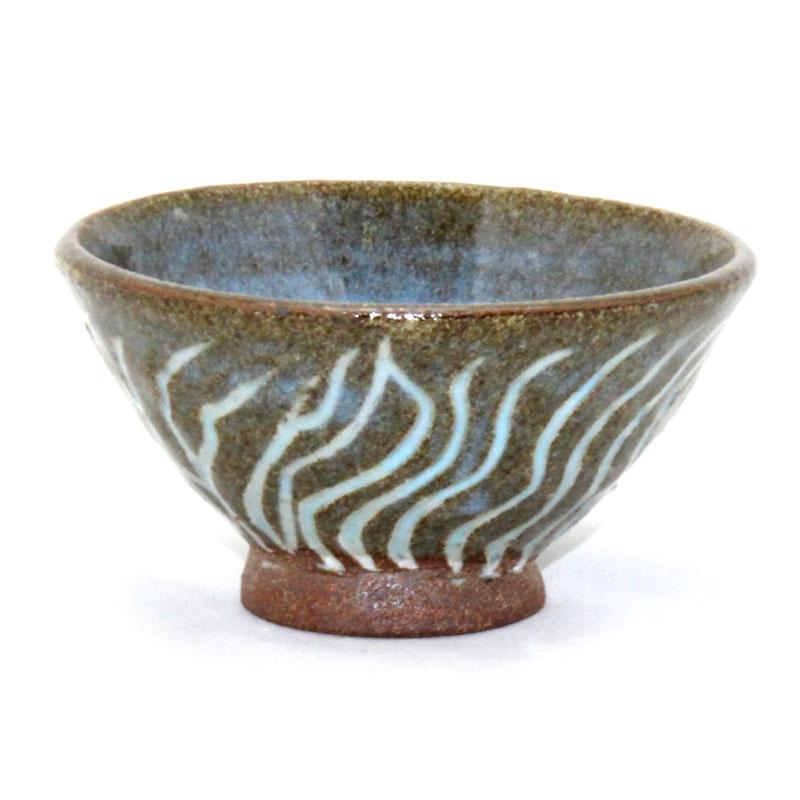 Mishima sand pattern bowl