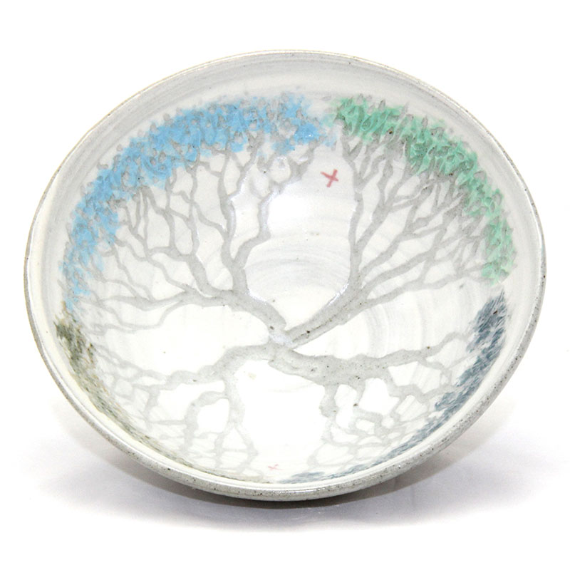 Four tree bowl